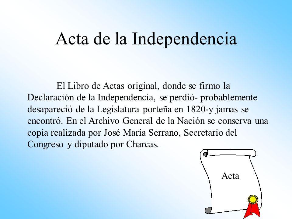 6 de Julio: Belgrano expone en una sesión secreta del Congreso de Tucumán su opinión sobre la forma de gobierno más conveniente para el Río de la Plat