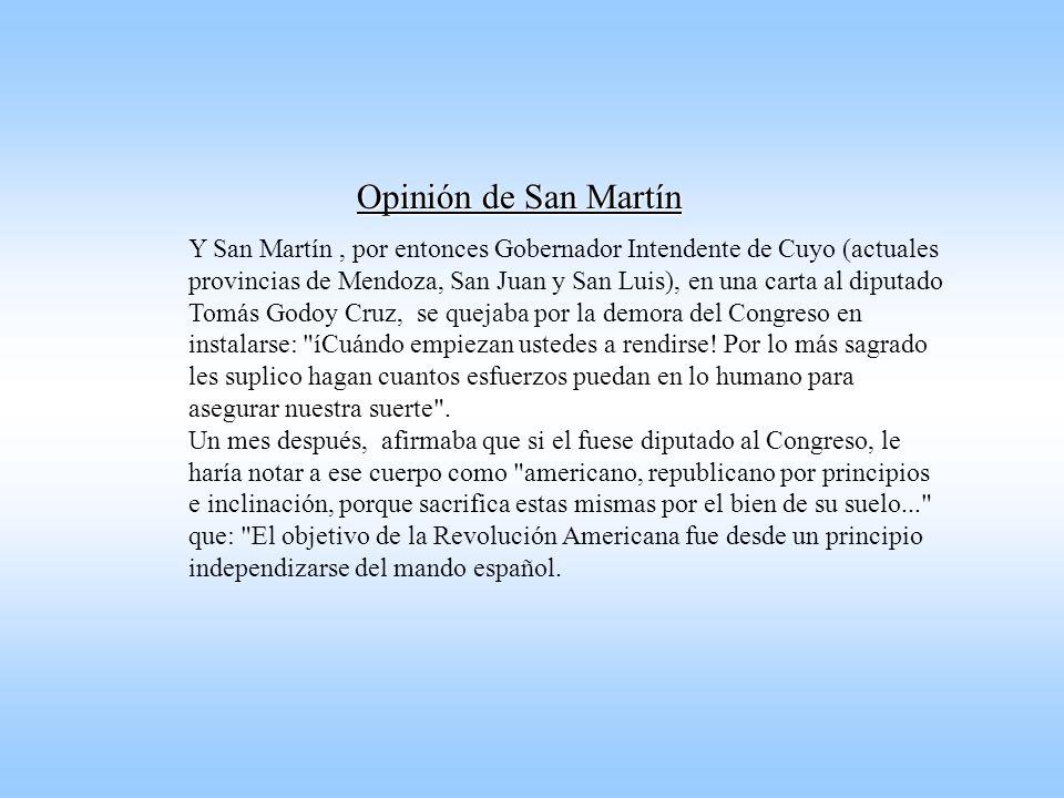 El Congreso de Tucumán declaro la Independencia, pero no pudo promulgar una constitución. La desunión comenzaba a marcar nuestra historia.