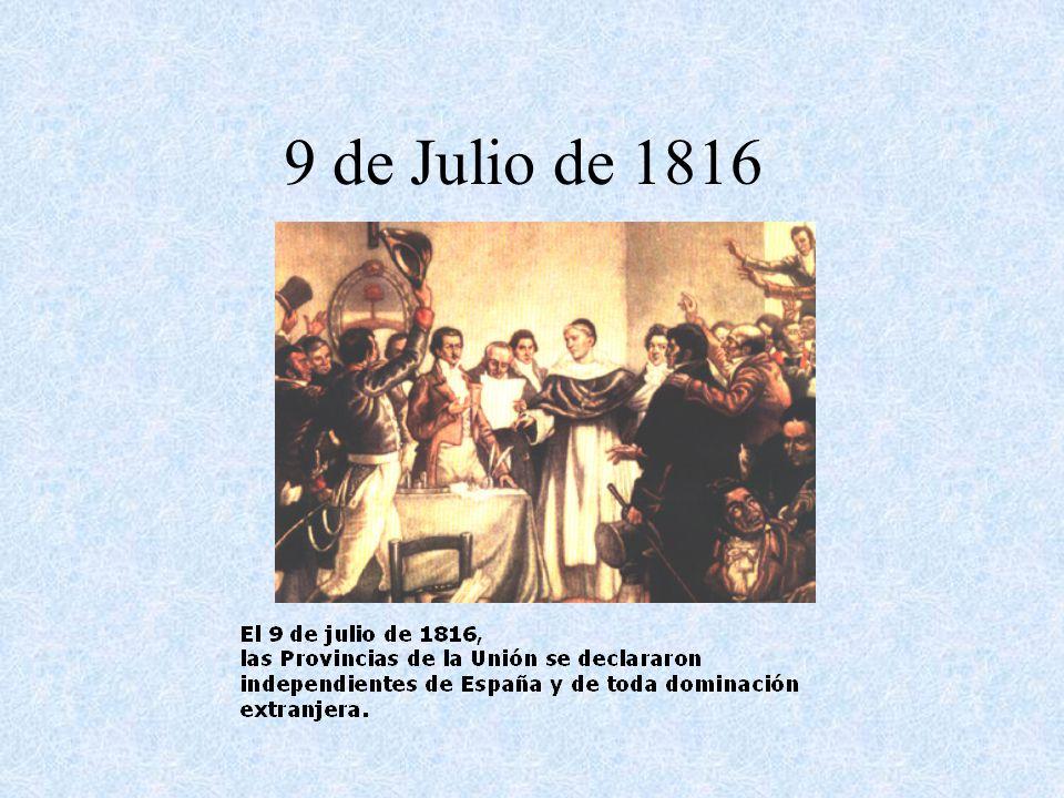 6 de Julio: Belgrano expone en una sesión secreta del Congreso de Tucumán su opinión sobre la forma de gobierno más conveniente para el Río de la Plata de acuerdo a su visión de la realidad europea.