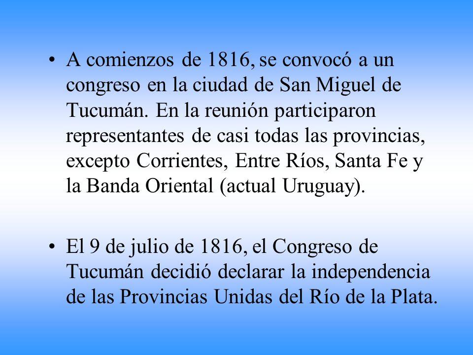 Era necerario tomar una rápida determinación: o se aceptaba la autoridad española en América y se terminaban los sueños de la revolución o se declarab