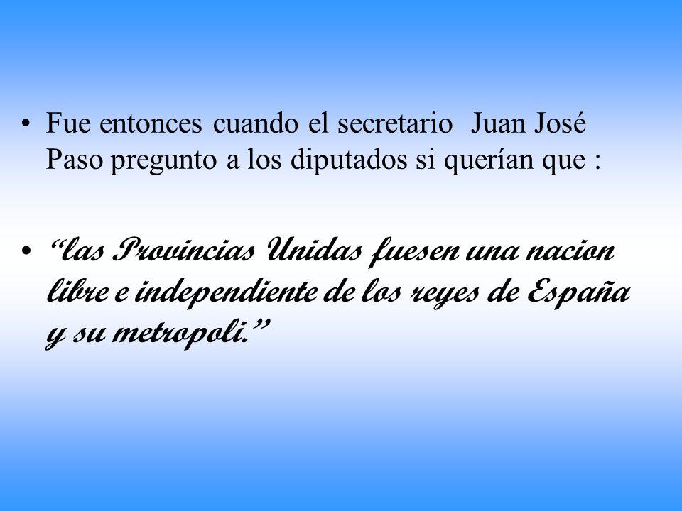 A comienzos de 1816, se convocó a un congreso en la ciudad de San Miguel de Tucumán. En la reunión participaron representantes de casi todas las provi