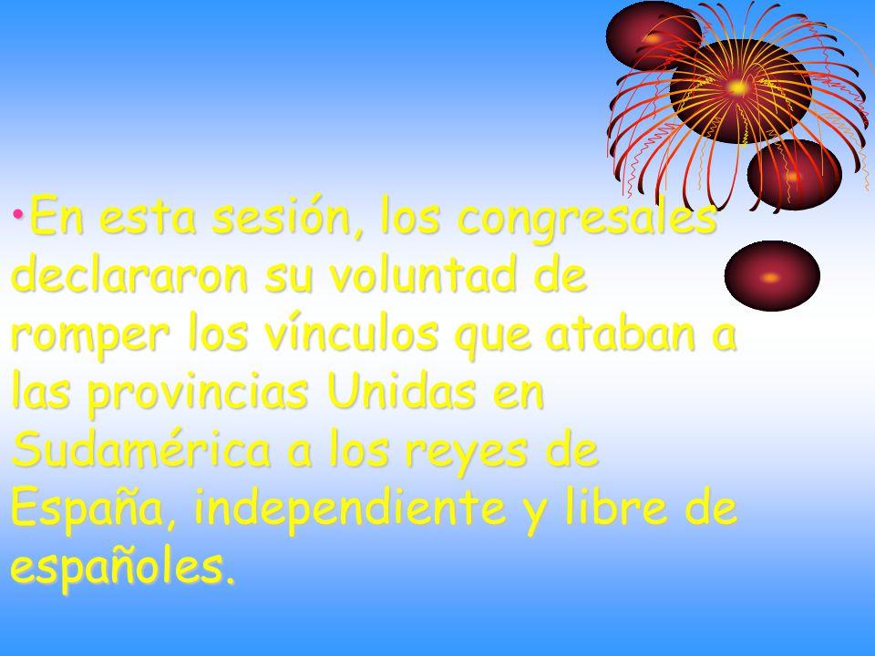 El acta de la Independencia Fue firmada por todos los congresales que declararon la Independencia.