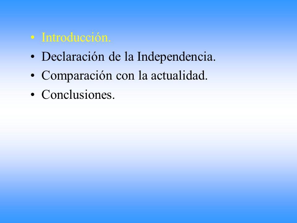 Fue entonces cuando el secretario Juan José Paso pregunto a los diputados si querían que : las Provincias Unidas fuesen una nacion libre e independiente de los reyes de España y su metropoli.