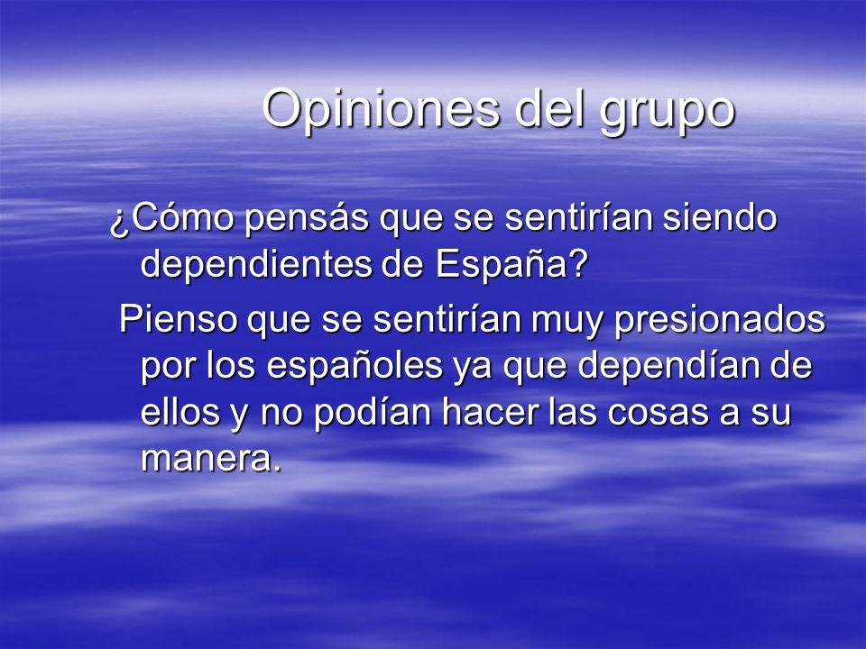 Conclusiones A los criollos les costó mucho independizarse ya que tenían a toda España en su contra.Pero gracias a que no se acobardaron, ni se rindieron, hoy podemos disfrutar de un país libre.