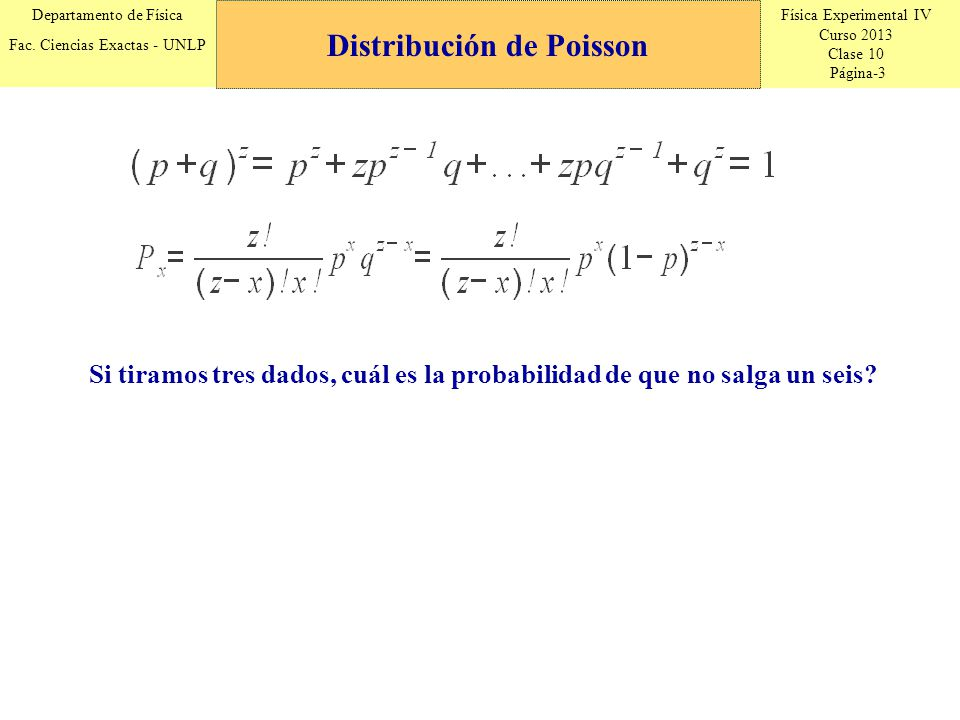 Física Experimental IV Curso 2013 Clase 10 Página-4 Departamento de Física Fac.