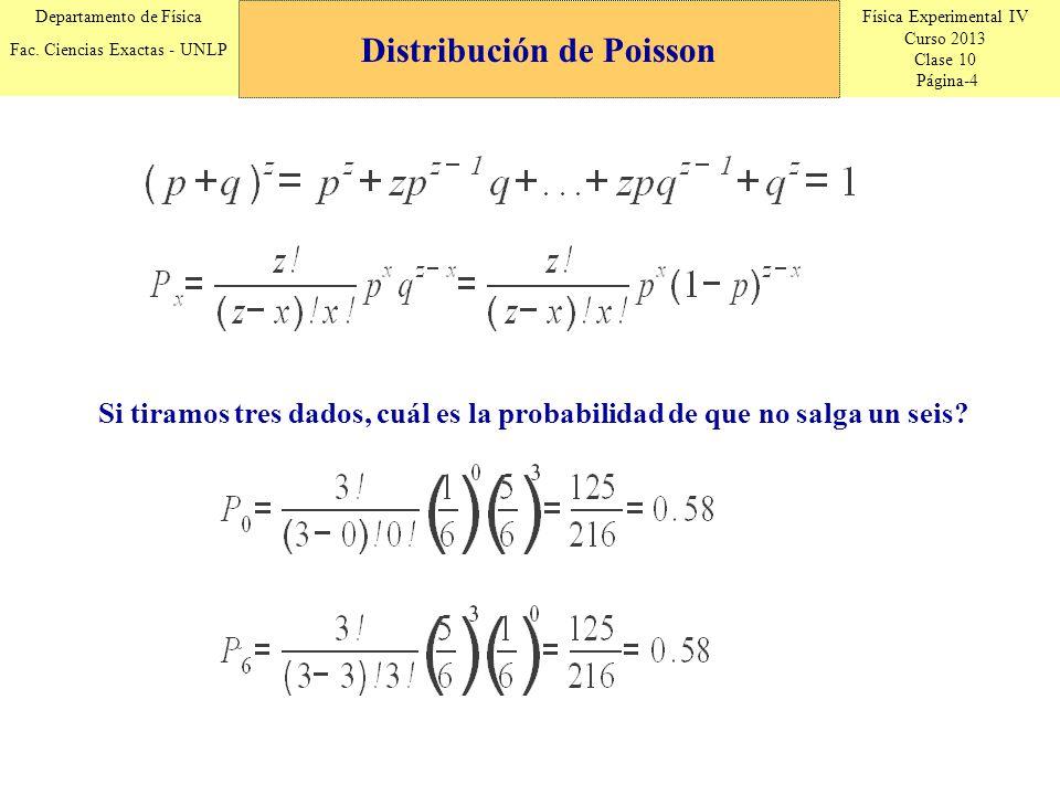 Física Experimental IV Curso 2013 Clase 10 Página-15 Departamento de Física Fac.