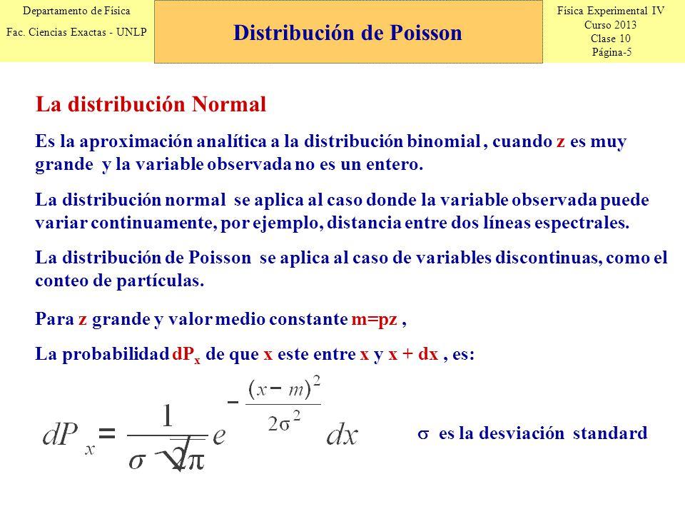 Física Experimental IV Curso 2013 Clase 10 Página-16 Departamento de Física Fac.