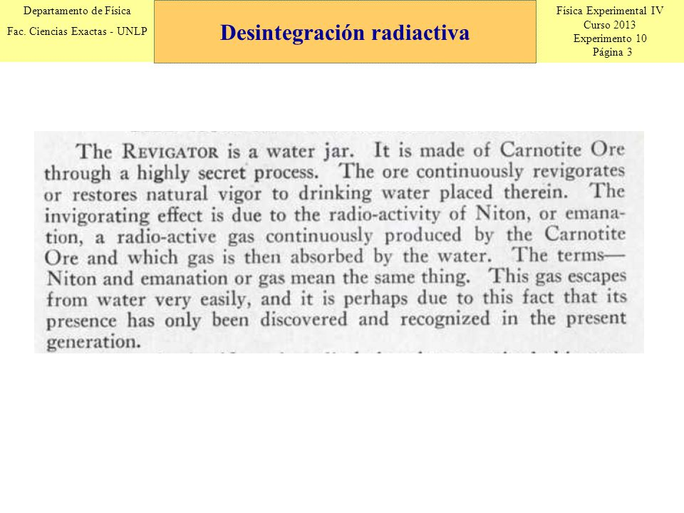 Física Experimental IV Curso 2013 Experimento 10 Página 3 Departamento de Física Fac.