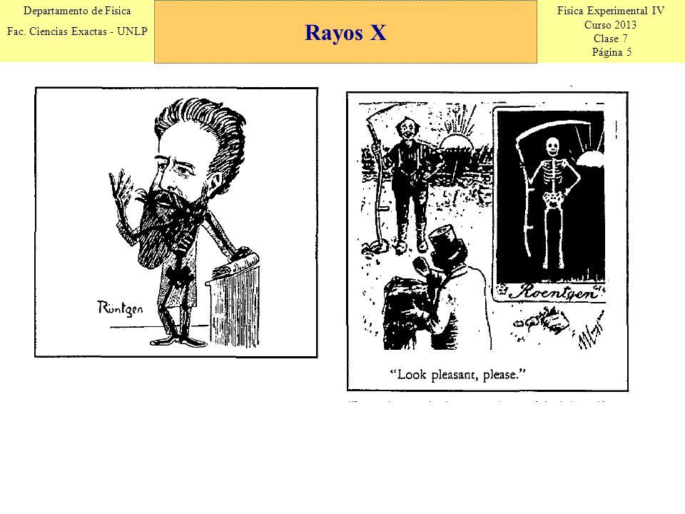 Física Experimental IV Curso 2013 Clase 7 Página 6 Departamento de Física Fac.