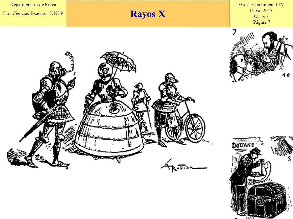 Física Experimental IV Curso 2013 Clase 7 Página 8 Departamento de Física Fac.