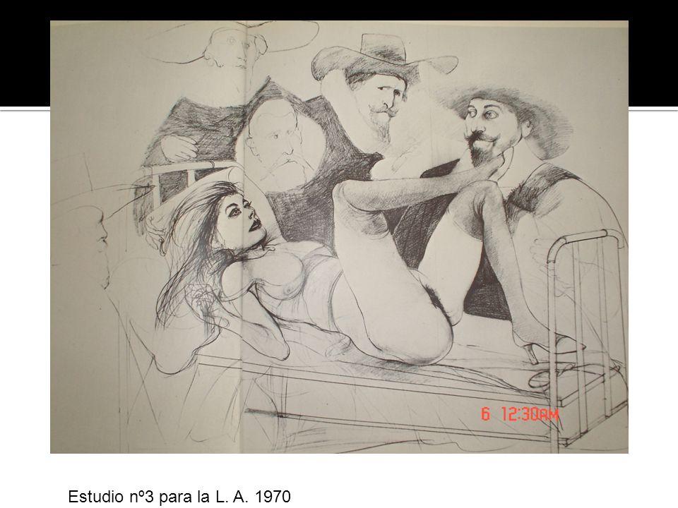 Estudio nº3 para la L. A. 1970