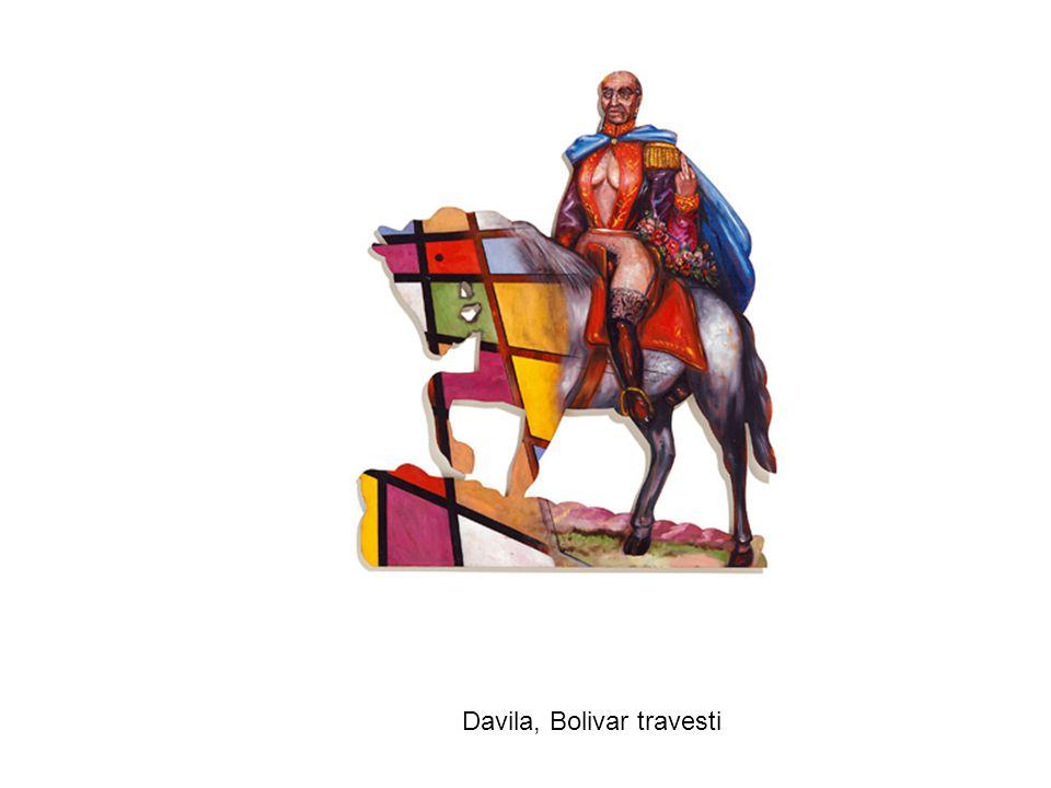 Davila, Bolivar travesti
