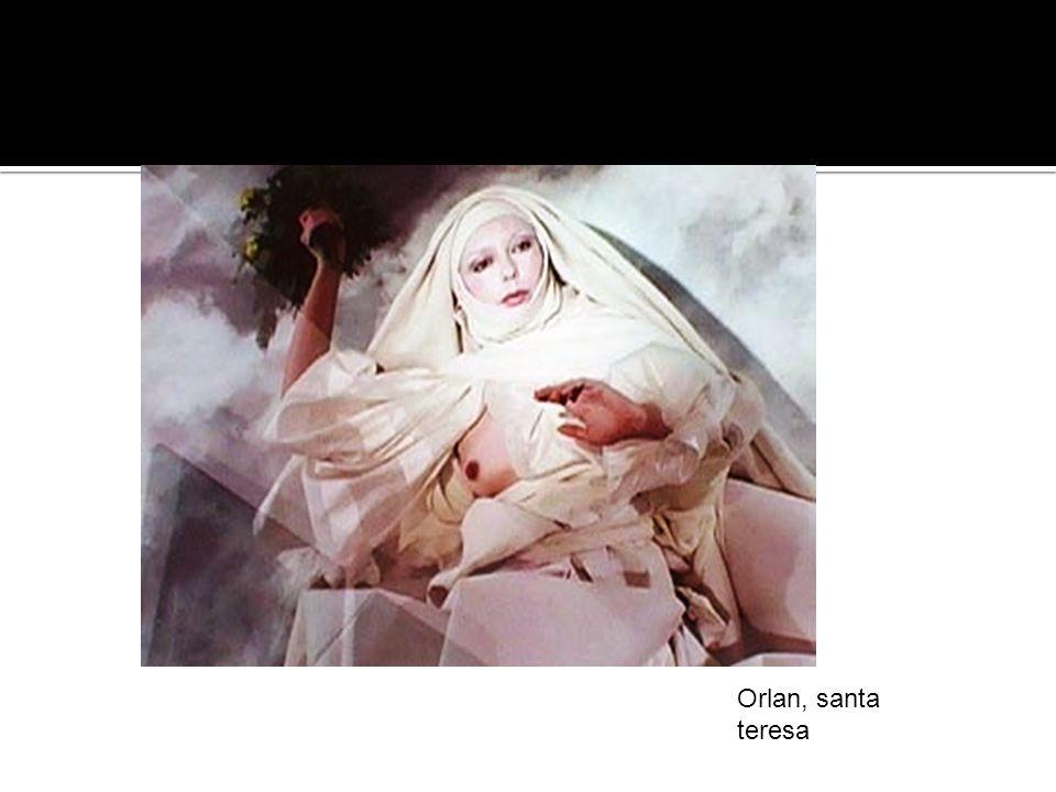 Orlan, santa teresa