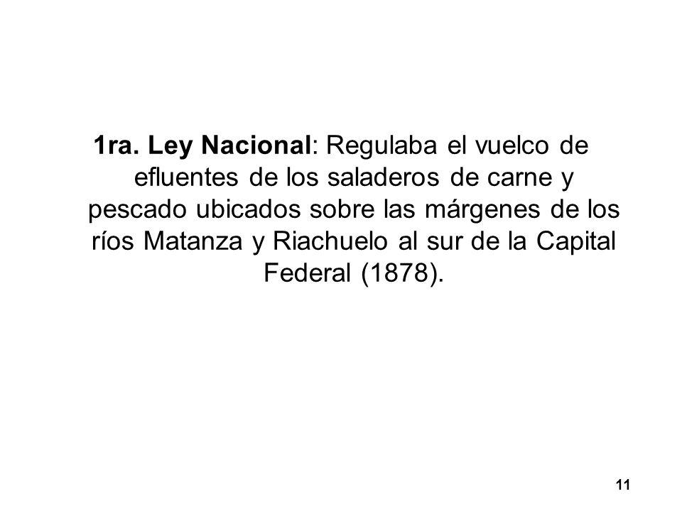LEGISLACION AMBIENTAL NACIONAL La reforma de 1994 de la Constitución encomienda al Estado proveer a: a) La protección del derecho al ambiente.
