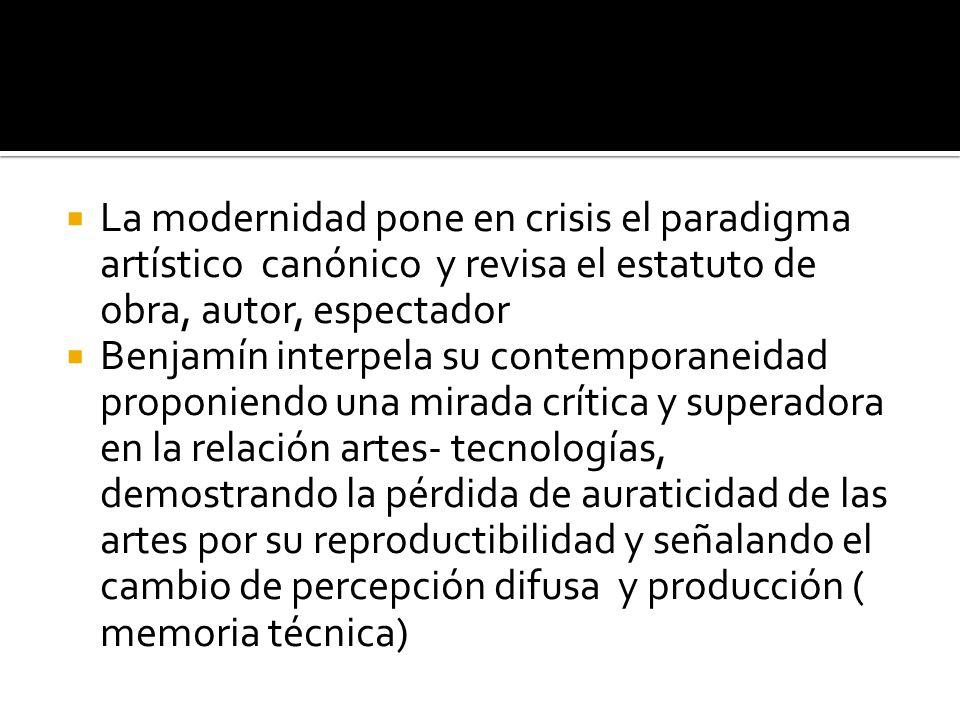 Adorno propone la recuperación de una mirada o actividad crítica negada en la estructura de la sociedad industrial capitalista ( legado Hegel- Marx) Considera el arte de masas en términos de un contradicción insalvable: pertenecientes a la industria cultural, por tanto cosificados y tendientes a profundizar la alienación- del sujeto social