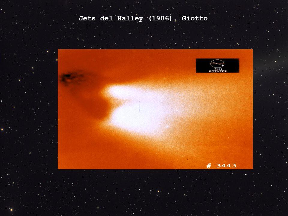 Jets del Halley (1986). Giotto
