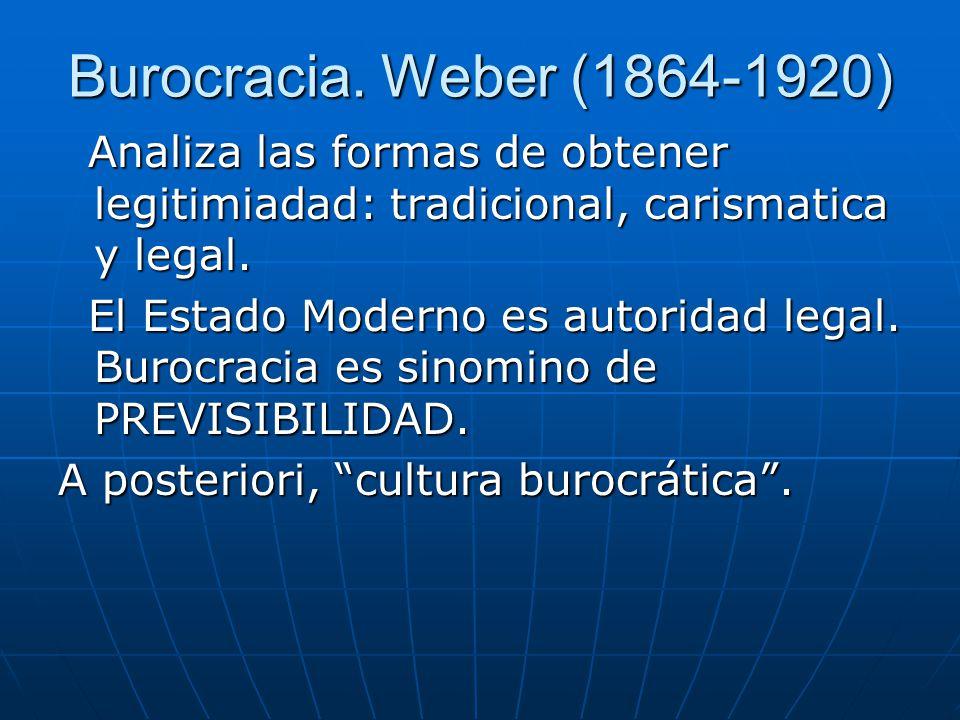 Burocracia.