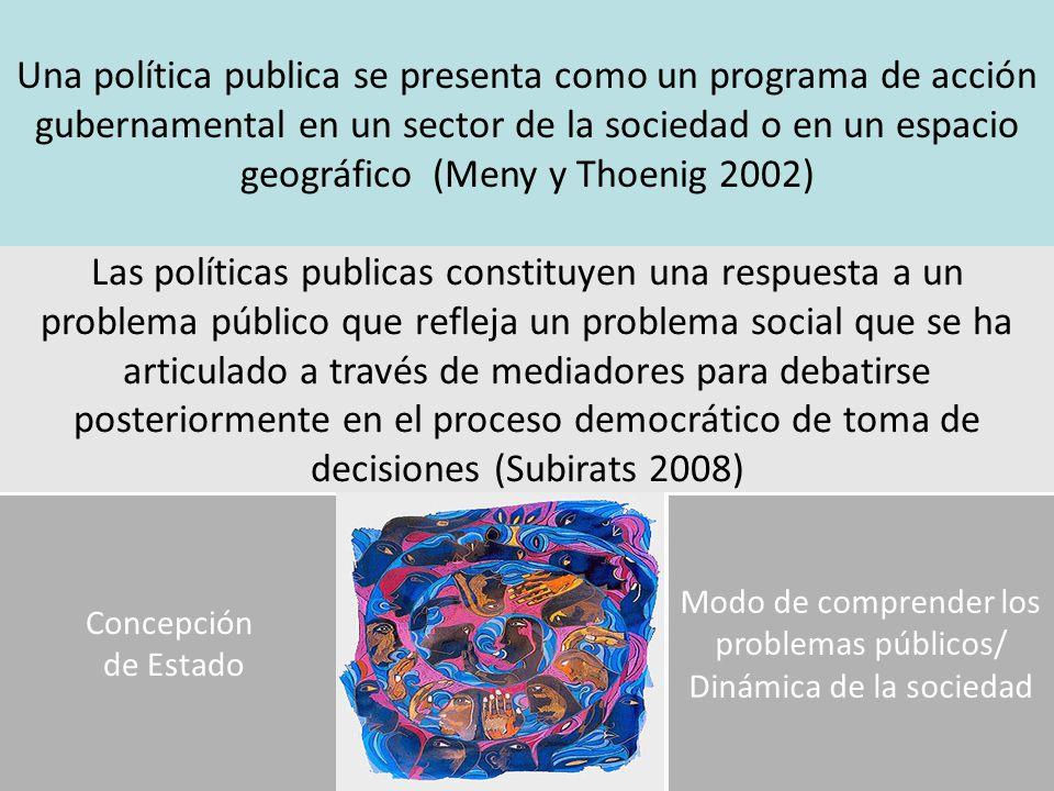 FORMULACION EVALUACION Que tipo de cuestiones se ponen en juego en el proceso de producción de una política pública??