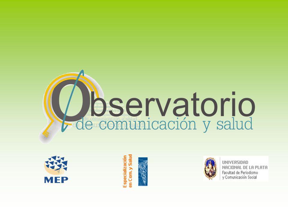 Objetivos Constituirse en un espacio de encuentro del conocimiento, entre los profesionales de la comunicación y la salud.