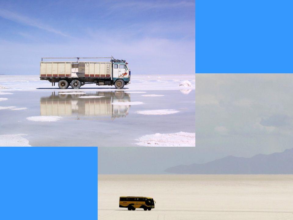 Cada año, los trabajadores de las salinas extraen unas 25.000 toneladas de sal del Salar de Uyuni. Apenas un arañazo en la superficie: los expertos es