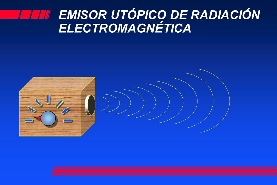 EMISOR UTÓPICO DE RADIACIÓN ELECTROMAGNÉTICA