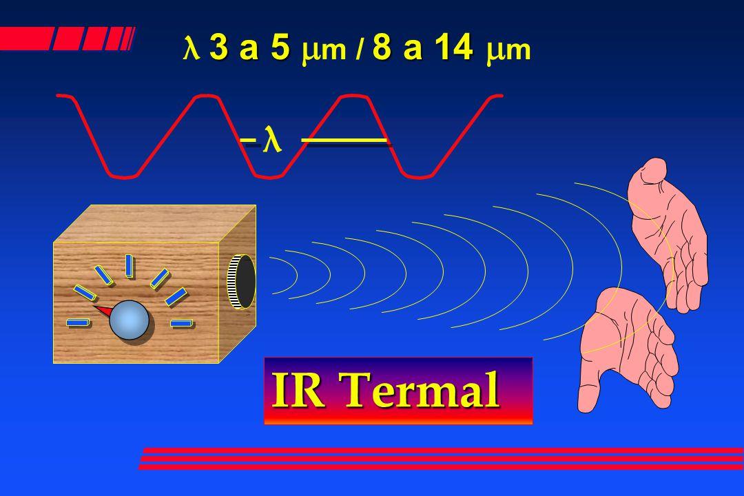 3 a 5 8 a 14 λ 3 a 5 m m / 8 a 14 m m IR Termal λ