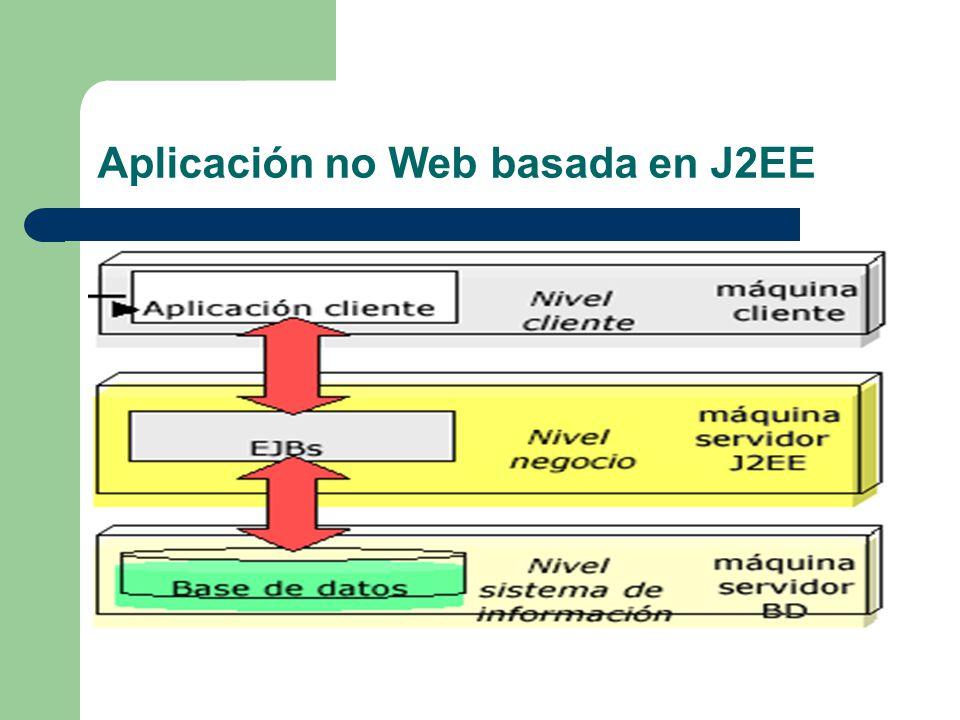 Aplicación no Web basada en J2EE