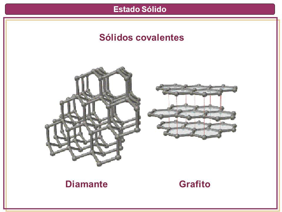 Estado Sólido Sólidos covalentes DiamanteGrafito