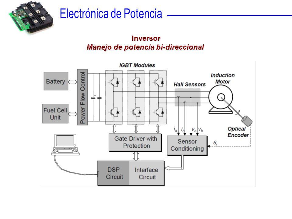 Inversor Manejo de potencia bi-direccional