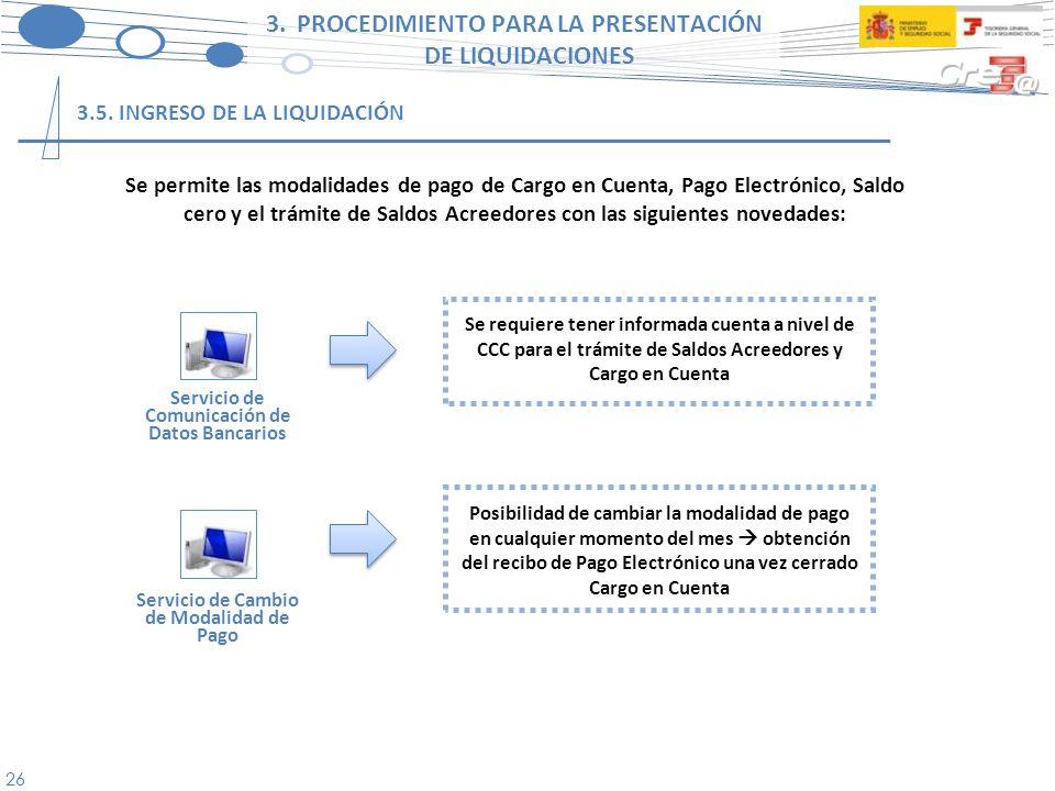 27 El proyecto Cret@ parte de la base de que sólo será necesario comunicar la información no disponible en las bases de datos de la TGSS de aquellos trabajadores que constan en alta en el FGA y de los que existe obligación de cotizar.