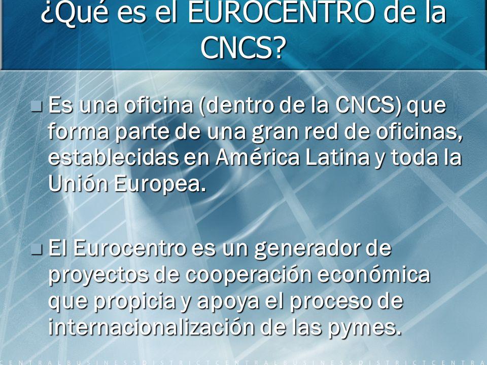 ¿Qué es el EUROCENTRO de la CNCS.