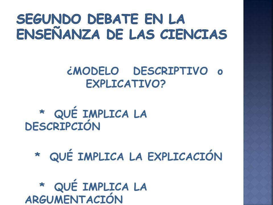 en las ciencias, se caracteriza por la utilización un lenguaje claro, específico de la disciplina.