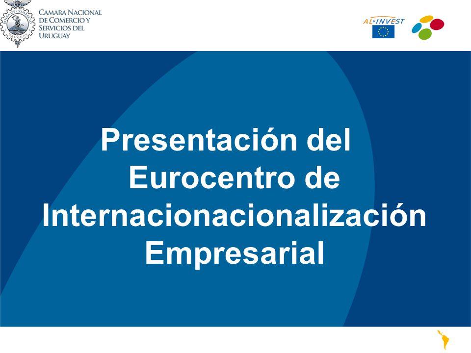 ¿Qué es el EUROCENTRO de la CNCS.AL-Invest es una iniciativa de la Comisión Europea.