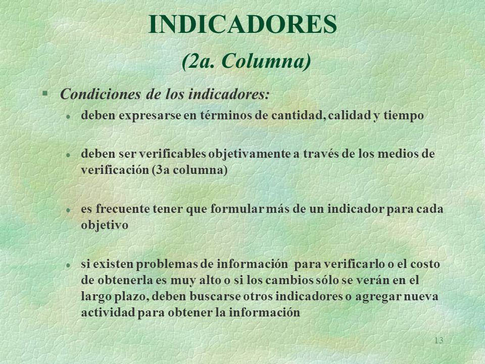 13 INDICADORES (2a.