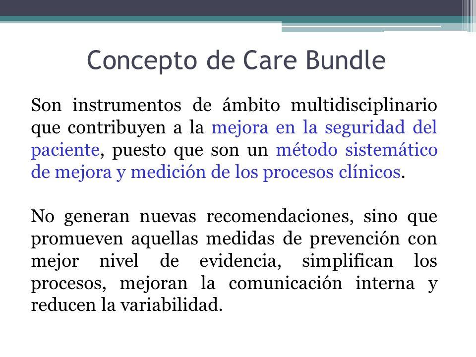 Son instrumentos de ámbito multidisciplinario que contribuyen a la mejora en la seguridad del paciente, puesto que son un método sistemático de mejora