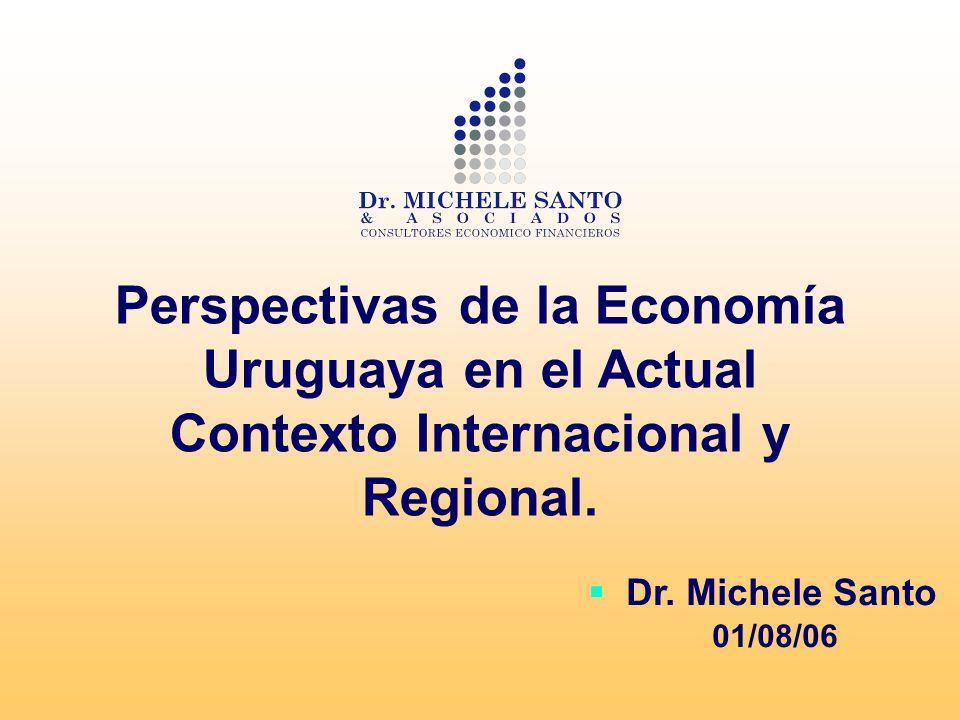 Temas a tratar (i)El Contexto Económico y Financiero Internacional (ii)La Coyuntura Regional (iii)Escenarios Externos Previsibles (iv)Oportunidades y Riesgos en el Marco de los Escenarios Previstos.