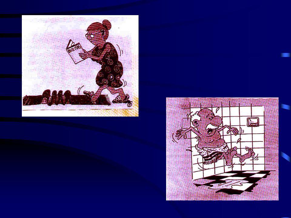 Factores de Riesgo de Fracturas relacionadas con caídas Disturbios del equilibrio Obstáculos ambientales Alfombras sueltas Disturbios visuales Histori