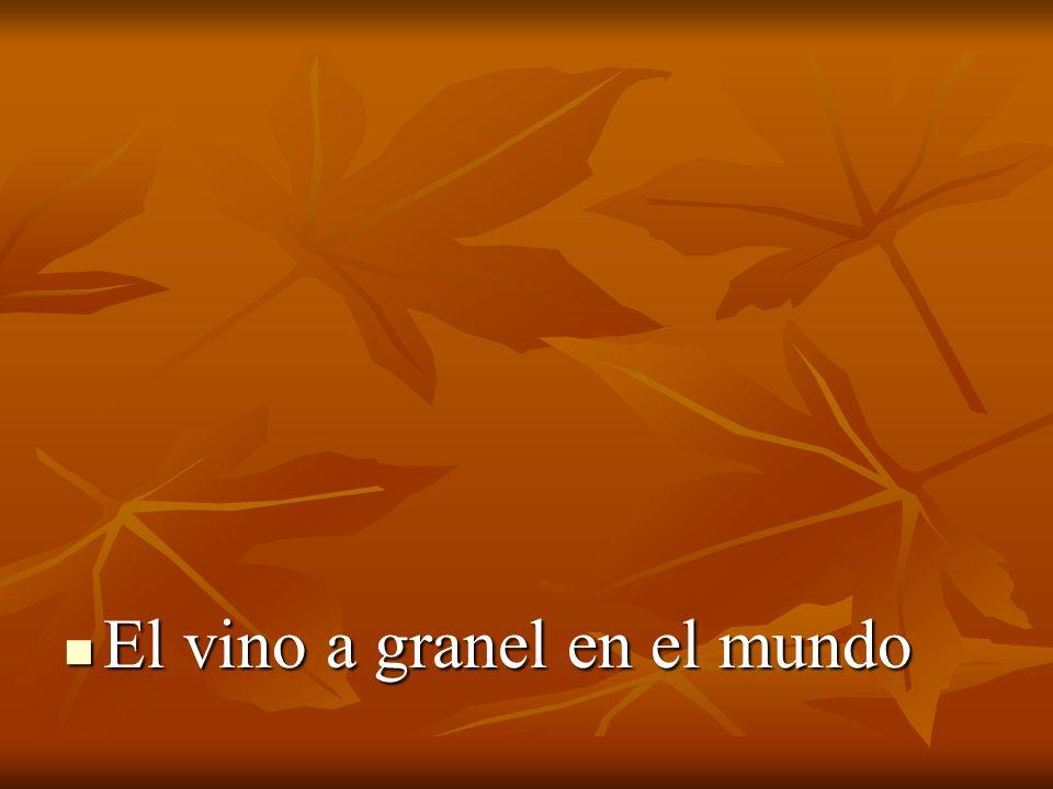 El vino a granel en el mundo El vino a granel en el mundo