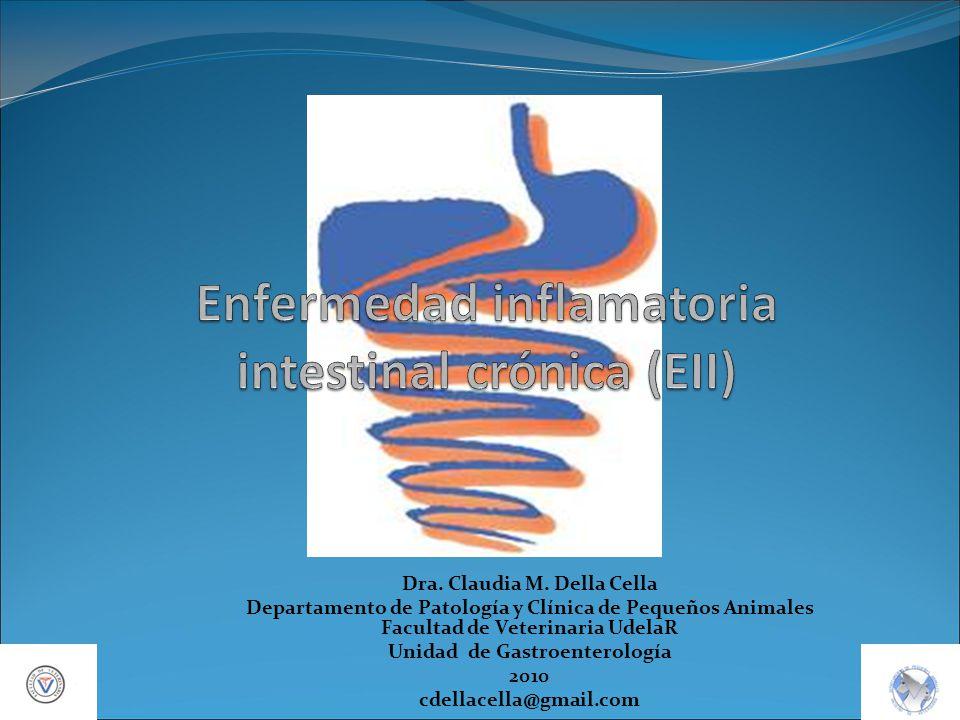 Dra. Claudia M. Della Cella Departamento de Patología y Clínica de Pequeños Animales Facultad de Veterinaria UdelaR Unidad de Gastroenterología 2010 c