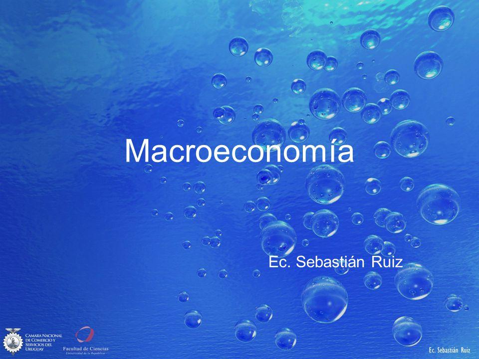 Macroeconomía Ec. Sebastián Ruiz