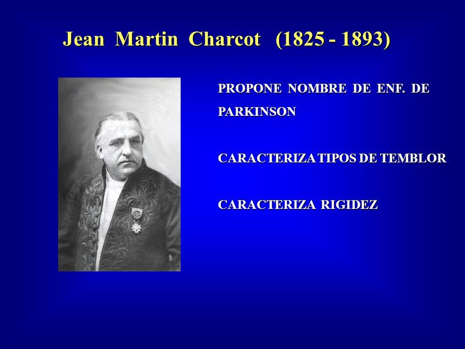 Jean Martin Charcot (1825 - 1893) PROPONE NOMBRE DE ENF.