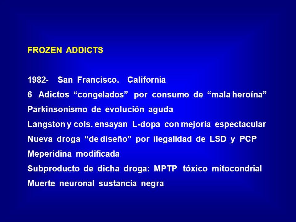 FROZEN ADDICTS 1982- San Francisco.