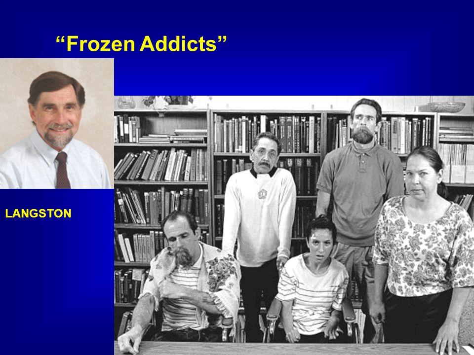 Frozen Addicts LANGSTON