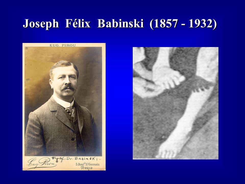 Joseph Félix Babinski (1857 - 1932)