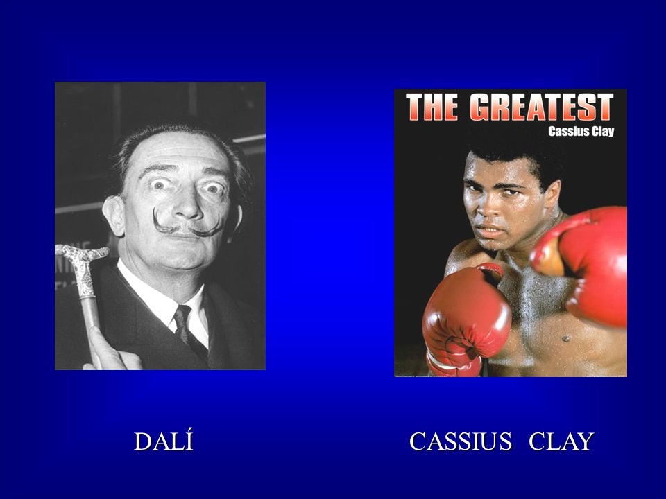 DALÍ CASSIUS CLAY DALÍ CASSIUS CLAY