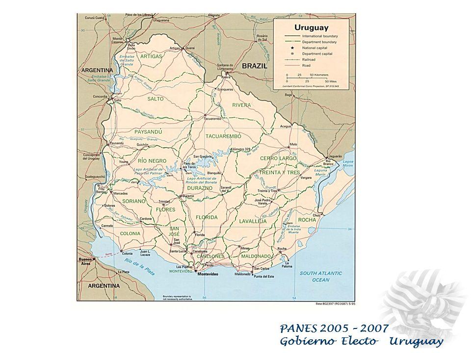 PANES 2005 – 2007 Gobierno Electo Uruguay Uruguay