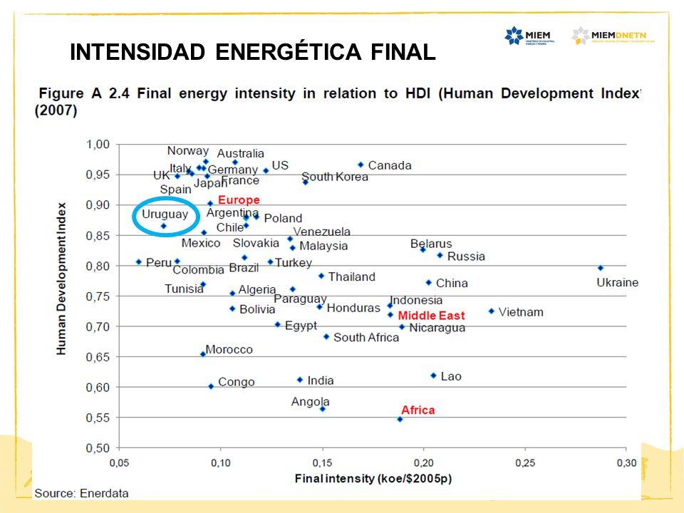 20 INTENSIDAD ENERGÉTICA FINAL