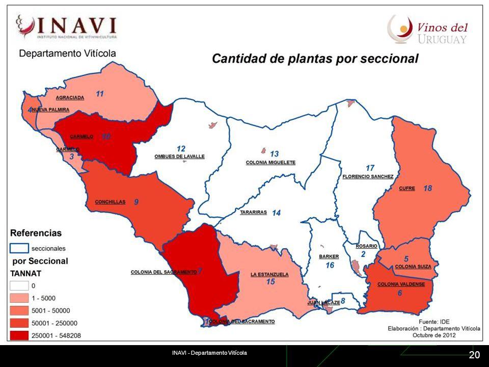 INAVI - Departamento Vitícola 20