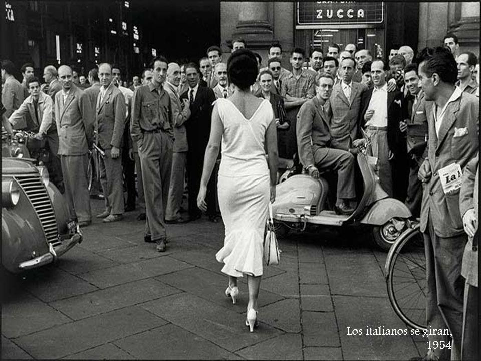 Los italianos se giran, 1954
