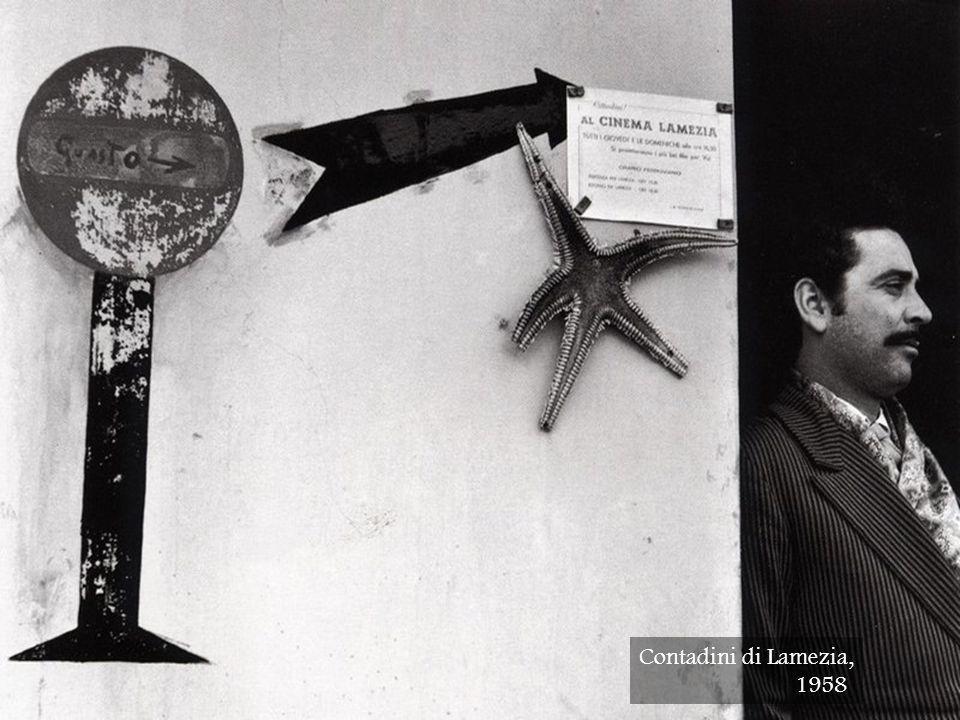 Contadini di Lamezia, 1958